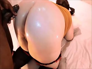 PAWG Banged DOGGY BY BBC