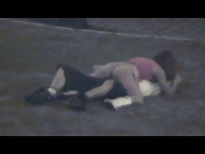 Sex in public park