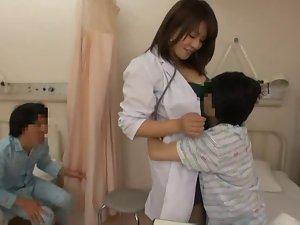 Nurse and slutty young men
