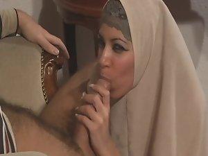 Extremely Sensual Arab hijab Lass Nima Like Brutal Execution