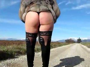 Italian exhibitionist mother