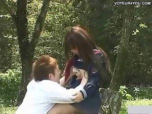 Outdoor Garden Day Fuck Schoolgirl