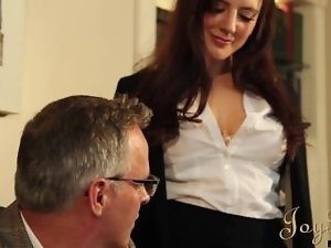 JOYBEAR Sexual Secretary Samantha Bentley rewarded by school principal