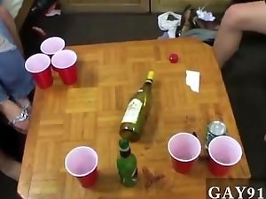 Gay clip of Well this looked like a comely casual game of de-robe pong,