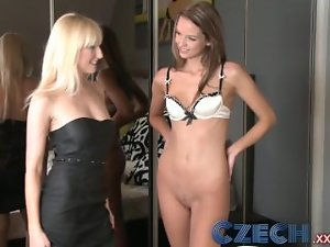 Czech Experienced married woman cheating with her younger butch lover