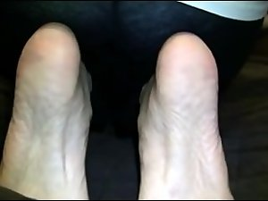 Seductive indian Feet tease