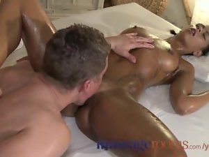 Beauteous Slutty ebony Cunt Frosted