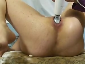 2 liters of prick and mentos in my wife's poor stunning anal
