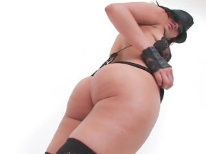 Charley Chase exposes her lewd body
