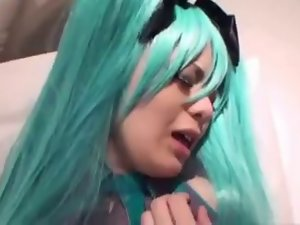 Jap anime cosplay sex video clip done right