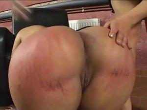 Spanking Big Butt