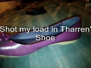 Shooting Cum in Tharren's Shoe 3