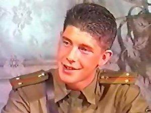 Sensual russian Army Fellows