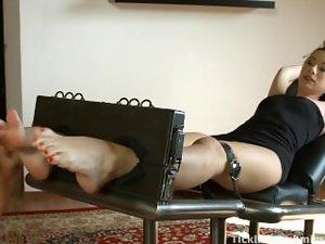 Czech Tickling Rene