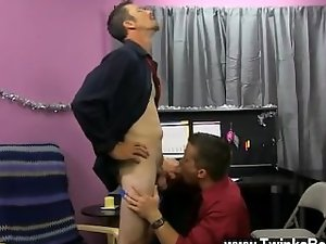 Amazing gay shot He finds himself on his knees, deepthroating Drake's