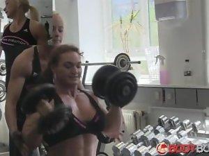 Danish FBB Training with friend