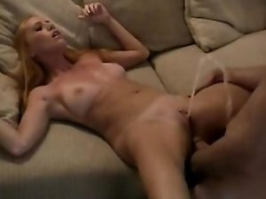 Amature Redhead Squirting