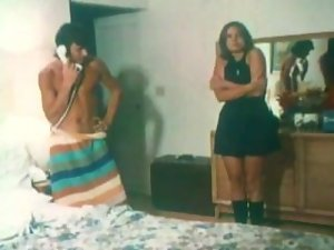 Rick Lutze in 70's porn short