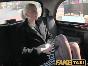 FakeTaxi Splendid tempting blonde has sex to get her pissing video deleted