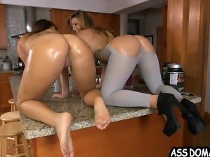 Lesbos With Juicy round ass Eve Lovia and Keisha Grey_2.4