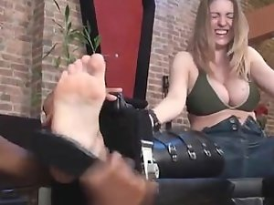 Tickling Abuse - Keri Socks to Bare