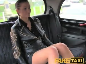 FakeTaxi Dark haired club hostess mistaken for a hoooker