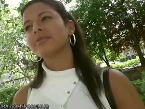Puta Locura Amateur Latin Lassie paid for sex