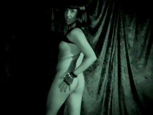 Electric TGirl Striptease