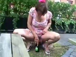bottle in vagina English obscene matureslut