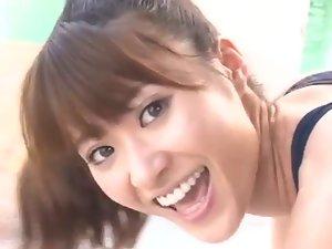 Saki Yamaguchi in Bathingsuit