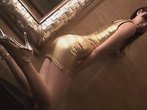 Asian Glamour - Gorgeous 18yo randy chicks in sexual clothes v5