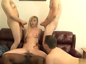 Mega tits fuck partner deep throat