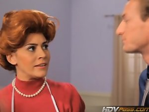 HDVPass Luscious Redhead Married woman Raylene Gives a Fond Cock sucking
