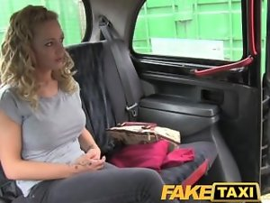 FakeTaxi Big titted tempting blonde with a irreproachable shape body