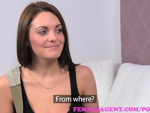 FemaleAgent. Seductive russian bisexual sex bomb explodes in amazing casting