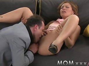 Seductive mom Gets Banged on date night