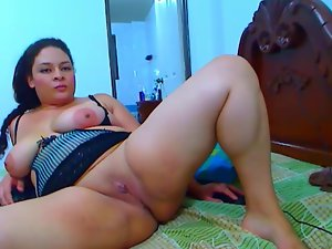 Latina Slutty girl Bare Show