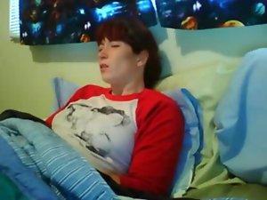 Maturbating webcam to orgasm