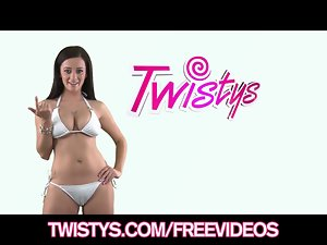 Watch me strip down and tease my rosy clit on camera