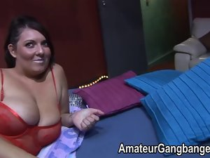 Orgy fun with heavy and heavy amateurs
