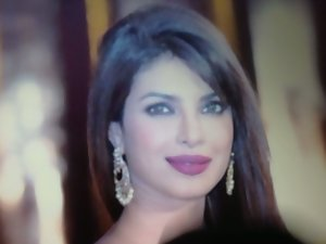 Beauteous face of Priyanka Chopra cummed!!!