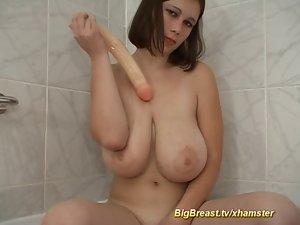 sensual monster boob babe