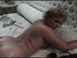 Vintage Brit Stevie Taylor Gets Her Stunning anal Reamed
