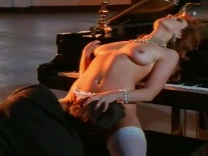 Peter North & Krista Maze at the piano (Classic Scene)