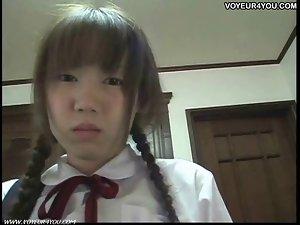 Seductive japanese Student Oral Sex Tutor