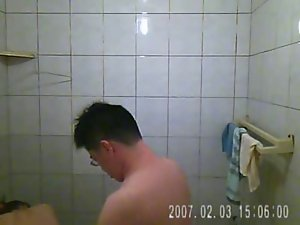 videotaping my slutty wife and I have sex in the bathroom