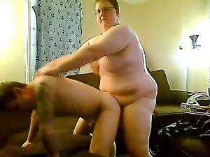 Nerdy Chub breeds stiff Chaser bum