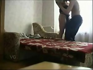teacher bangs her student