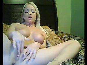 Filthy webcam blondy