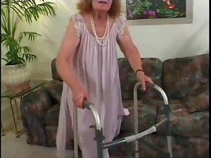 Grumpy Aged Granny Get Banged 3 Times
